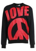 Love Moschino Sweatshirts black/red