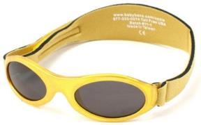 Solbrille - Baby Banz - Adventure - Gold Metallic