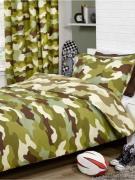 Army Camouflage Vendbart Sengetøj