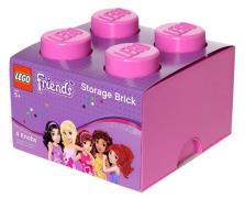 Lego Friends opbevaring Pink