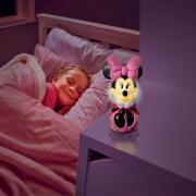 Minnie Mouse 2i1 Natlampe og lygte Figur
