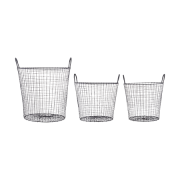 Wire Kurv Sort 3-pack