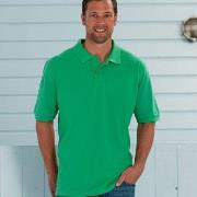 Russell M Classic Cotton Polo * Gratis Fragt *