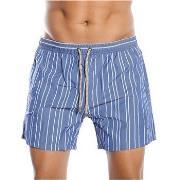 Hugo Boss Salmon Swim Shorts Blue * Gratis Fragt *