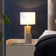 Villeroy & Boch Torino bordlampe, betonlook, 33 cm