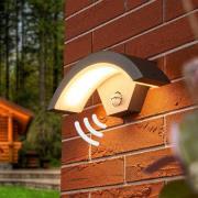 Sensor LED-udendørsvæglampe Jule