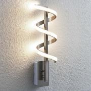 Drejet LED-væglampe Pierre