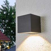Merjem - LED udendørs væglampe i mørkegrå