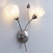 Lindby Yannie LED-væglampe, 2 lyskilder