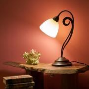 Luca - flot bordlampe i landstedsstil