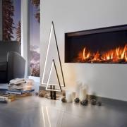 LED-dekorationslampe Pine sort 50 cm