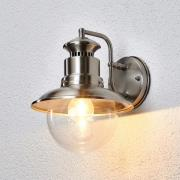 Gwendolyn - udendørsvæglampe af ædelstål