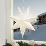 Iøjnefaldende stjerne Solvalla 45 cm sølv