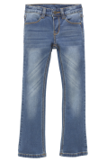 Jeans Bootcut i joggerkvalitet