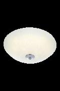 FLEUR Plafond LED Hvid/krom, 35 cm