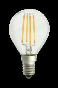 Pære E14 LED 3-trins dæmpbar Globe Klar 0,4-5 W