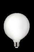 Pære E27 LED 3-trins dæmpbar Globe 125 mm Opal 0,4-7 W