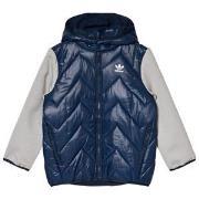 adidas Originals Navy Small Logo Padded Jacket 7-8 years (128 cm)