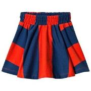 Molo Barbera Skirt Carmine Stripe 92/98 cm