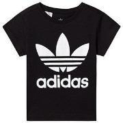 adidas Originals Black Trefoil Logo T-Shirt 4-5 years (110 cm)