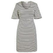 Boob Simone Short Sleeve Dress Tofu/Midnight Blue XS (32-34)