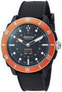 Alpina Horological Smartwatch Herreur AL-282LBO4V6 Sort/Gummi Ø44 mm
