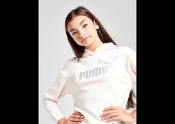 Puma     Girls' Essential Hoodie Junior - Pink - Kids