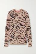 Stella McCartney - Jacquard-knit Wool-blend Sweater - Sand