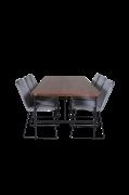 Spisegruppe Uno med 6 spisebordsstole Muce