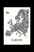 Poster Europé, 50x70 cm