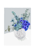 Plakat Blue Bouquet