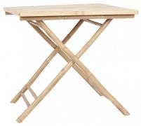 IB LAURSEN cafébord - bambus (80x80)