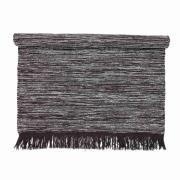 BLOOMINGVILLE gulvtæppe - grå uld/bomuld, rektangulæ...