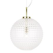 Globen Lighting-Spring Pendel XL ø40 cm, Klar/Messing