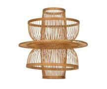 Oi Soi Oi Rattan Bird Case lampeskærm - 30x40 - natur