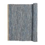 Magda bomuldstæppe 60x90 cm Flint stone blue