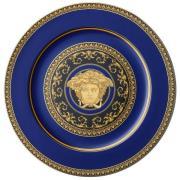 Versace Medusa Blue dækketallerken 33 cm